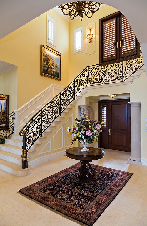 Traditional Foyer Quotes : Ideas about staircase railings on pinterest
