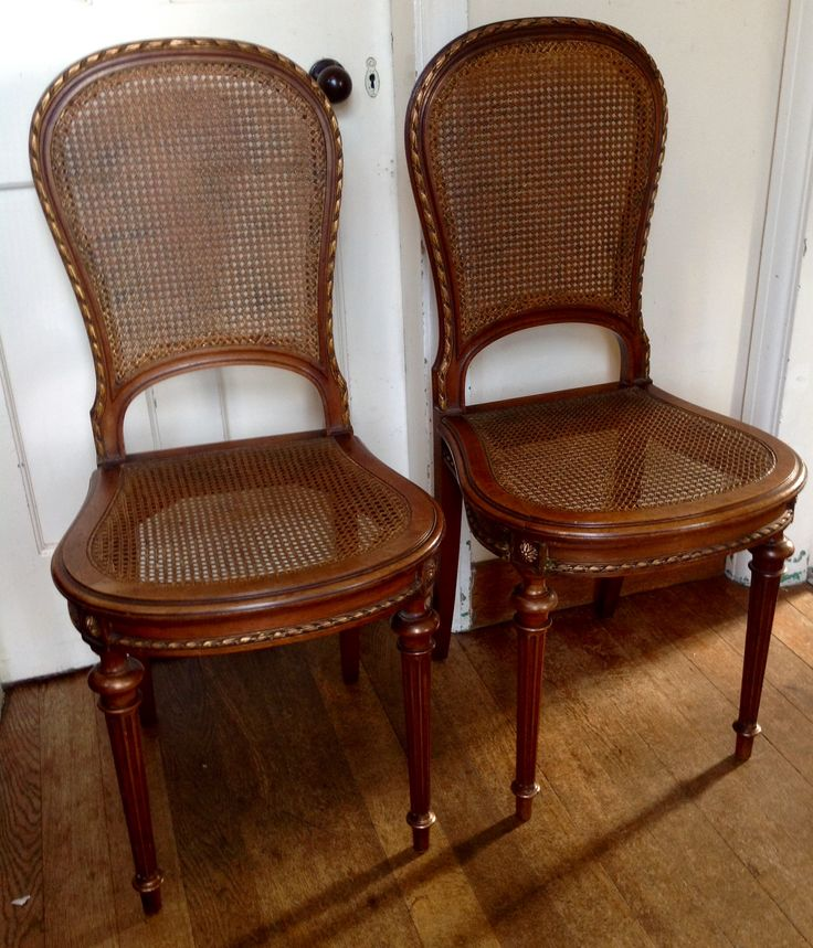 Gorgeous pair of french walnut bedroom chairs. Circa 1900. Sold & 38 best Antique u0026 vintage chairs u0026 stools images on Pinterest ... islam-shia.org