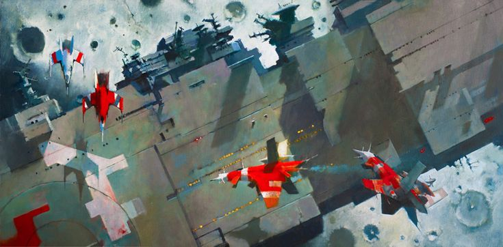 John Harris (cover of Ancillary Justice by Ann Leckie)