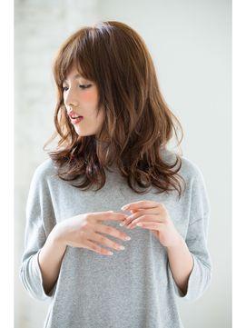 ジョエミバイアンアミ(joemi by Un ami) 【joemi 】無造作ウェーブ、透明感メルトカラー×エアウェーブ