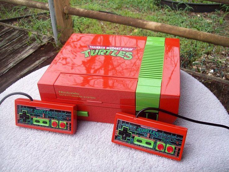 Teenage Mutant Ninja Turtles-Nintendo. 80s. Curated by Suburban Fandom, NYC Tri-State Fan Events: http://yonkersfun.com/category/fandom/