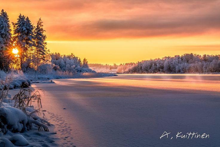 Guten morgen aus Finnland. Wir wünschen allen einen wunderschönen Tag. #Finnland #Winter