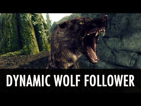 Skyrim Mod: Dynamic Wolf Follower - YouTube | werewolf Queen