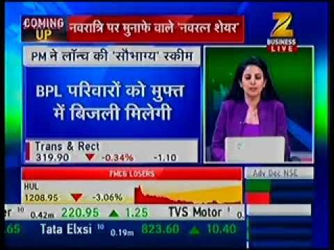 Expert Live On ZEE Business News Channel