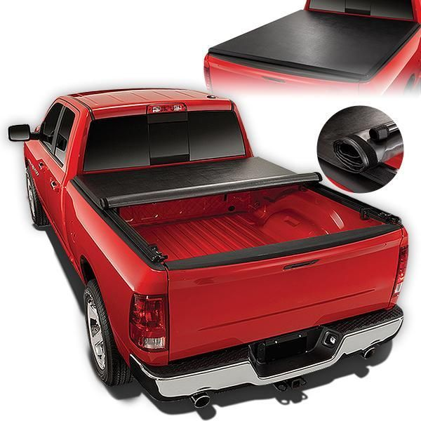 05 15 Toyota Tacoma Fleetside 6 Ft Truck Bed Soft Roll Up Tonneau Cover Tonneau Cover Tri Fold Tonneau Cover Truck Bed