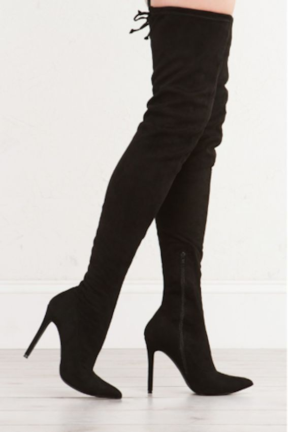 Best 25  Thigh high boots outfit ideas on Pinterest | Thigh high ...