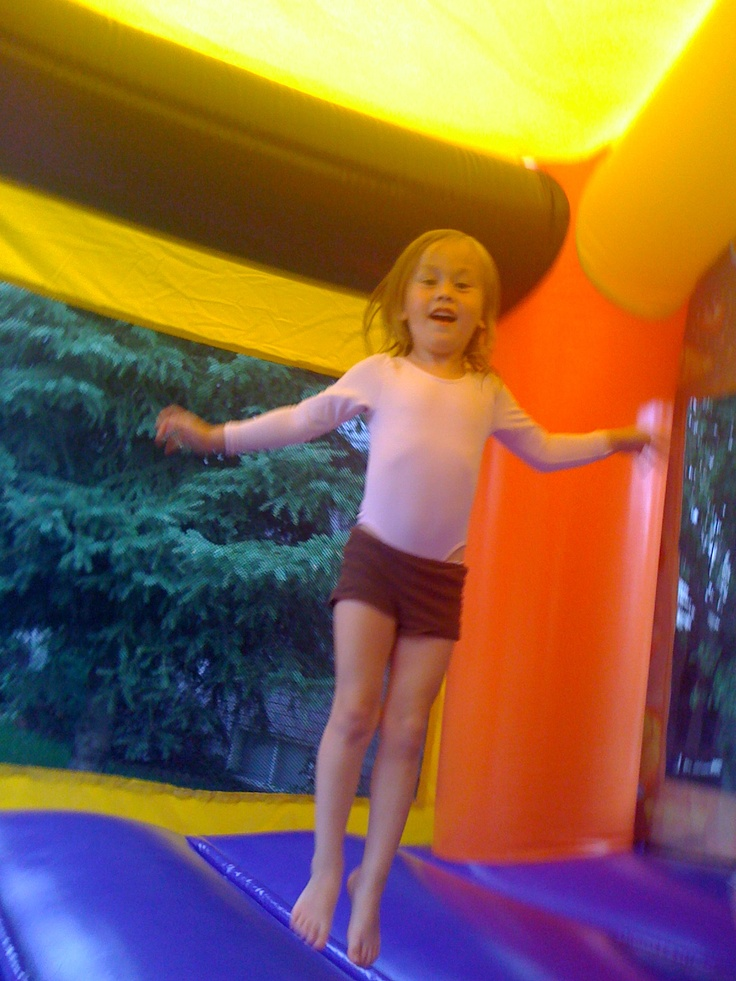 Real kids really have fun in our Jumpy Things!