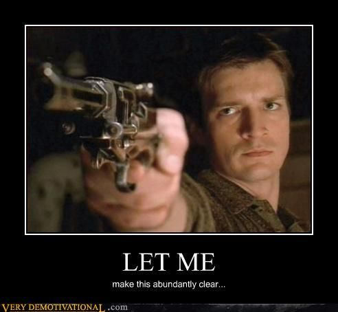 Firefly ~ Nathan Fillion as Captain Mal
