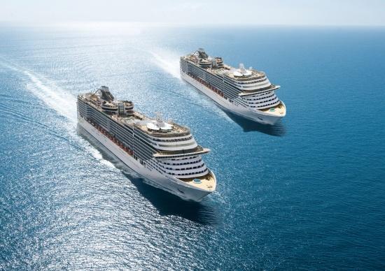 MSC Fantasia  MSC Splendida  #cruceros #viajes #vacaciones #msc