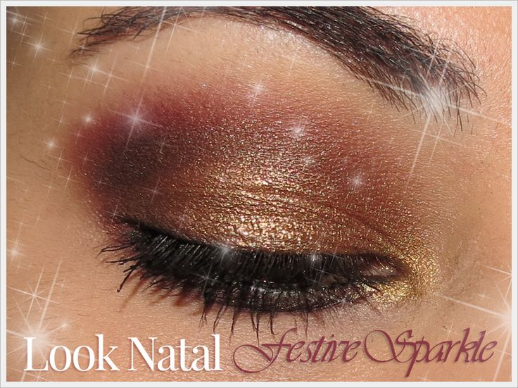 Makeup Look (Chistmas Series) - Festive Sparkle