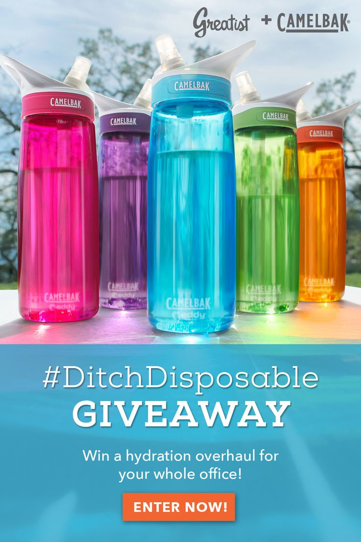 Win a Hydration Overhaul for Your Office! #DitchDisposable #health #giveaway