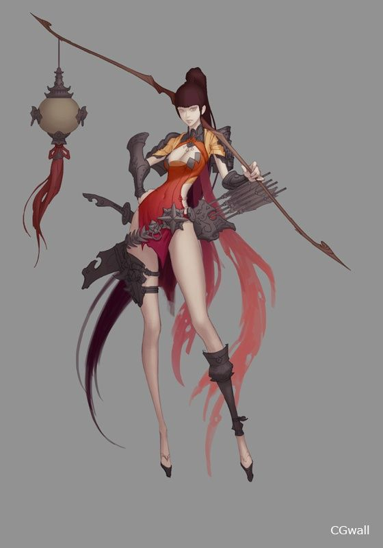 Fantasy Character Design Tutorial : Cgwall游戏原画网站 tutorial pinterest character design