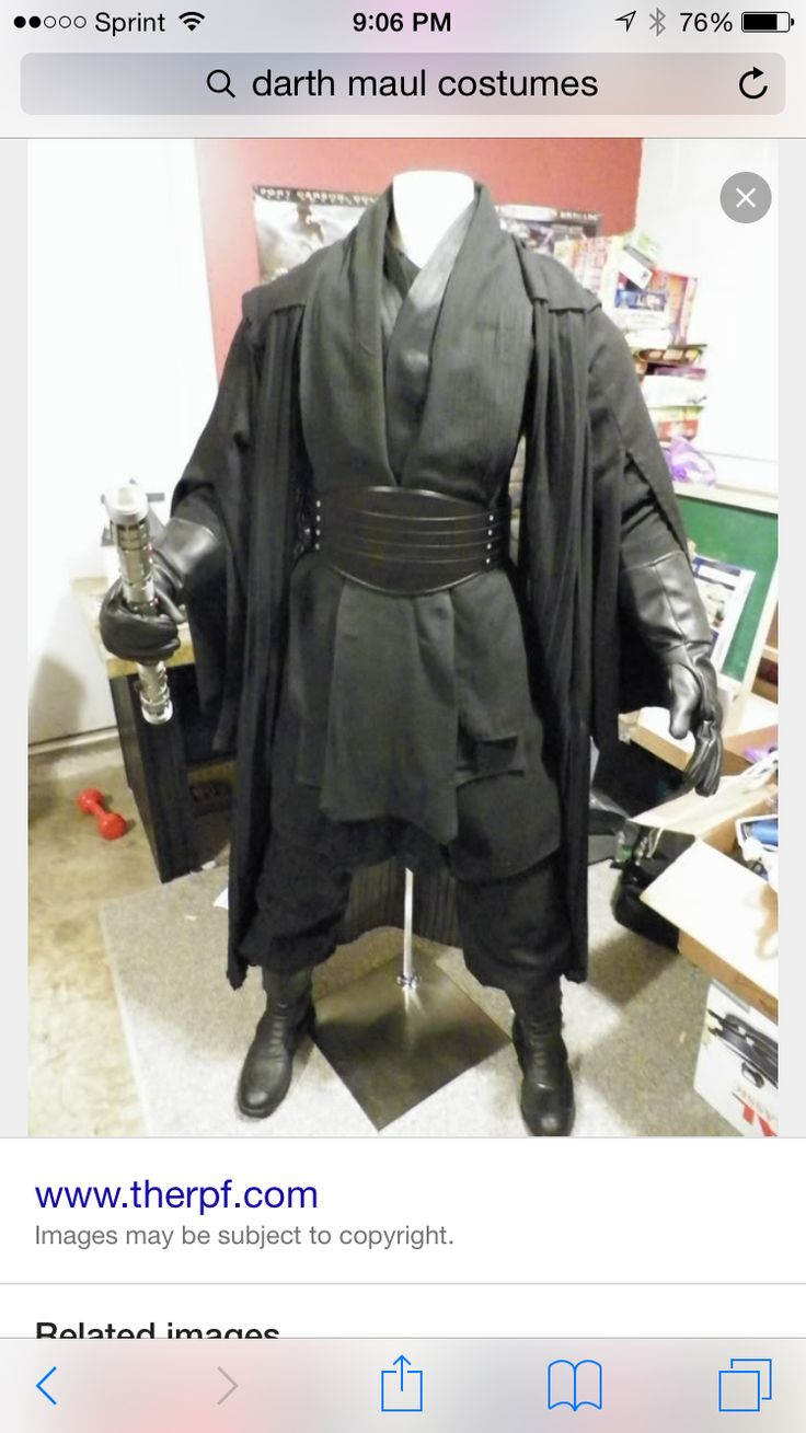 Homemade Darth Maul Costume 25+ best ideas about D...