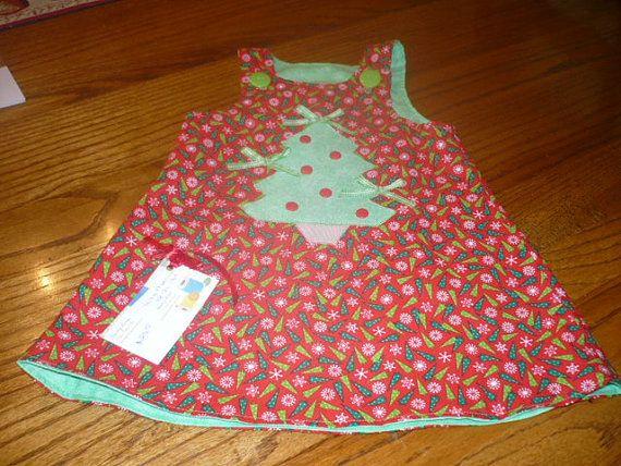 Baby girl Christmas dresses & bibs