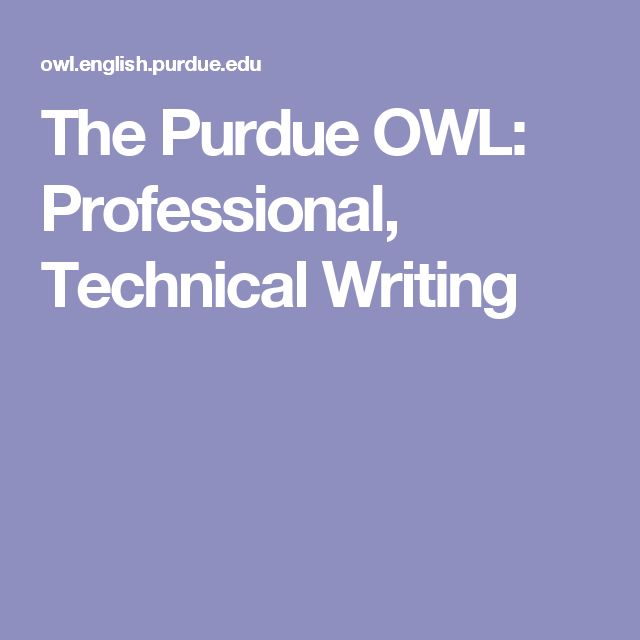writing for the technical professions Knowing the characteristics of technical writing is important if you need to explain a variety of topics and provide a lot of detailed direction the purpose of.
