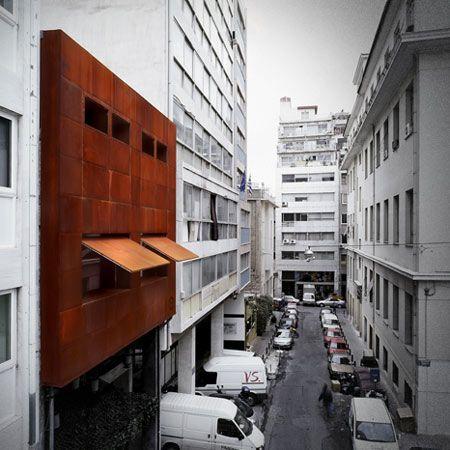 Bar Guru Bar by KLab Architecture: Architecture Architecture, Facade, Architecture Club, Architecture Athens, Bar Guru, Space, Architecture Design