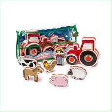 Meadow Kids Build and Play Tractor UPC EAN 874246001332 - Green Ant Toys www.greenanttoys.com.au #xmas2016