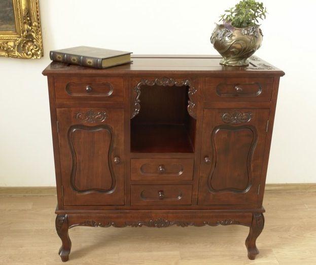 Ręcznie rzeźbiona komoda / Chest of drawers colonial