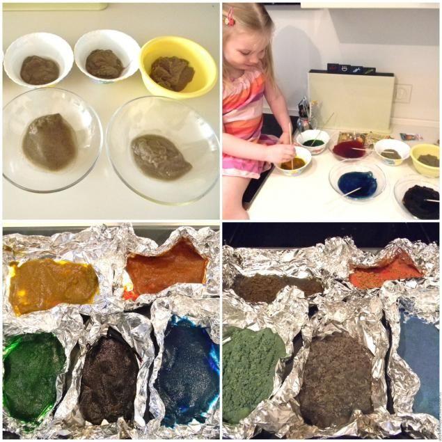 Цветной песок для рисования своими руками - Ярмарка Мастеров - ручная работа, handmade