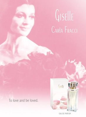 Giselle by Carla Fracci, print ad