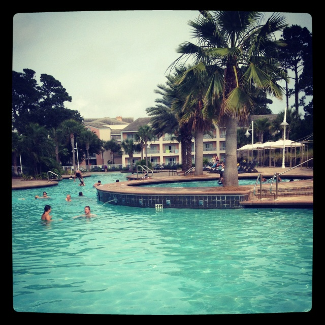 Hotel pool in Panama City Florida