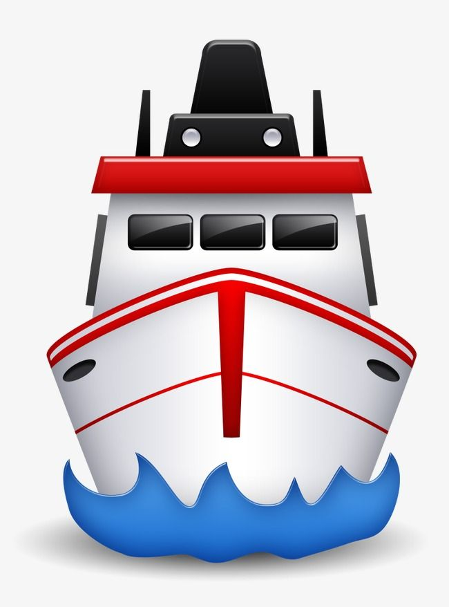 Cartoon Ship Front View Ferry Ocean Sea Png And Vector With Transparent Background For Free Download Cartoon Ships Cartoon Png