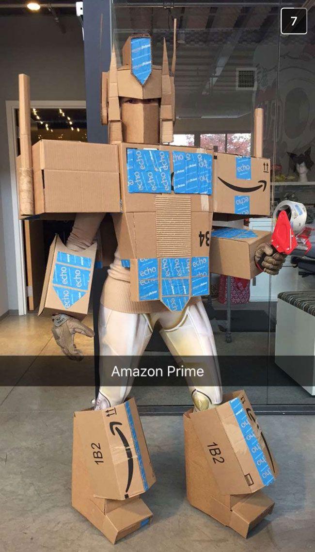 Halloween-Kostüm-Tipp für Amazon-Prime Vielbeste…