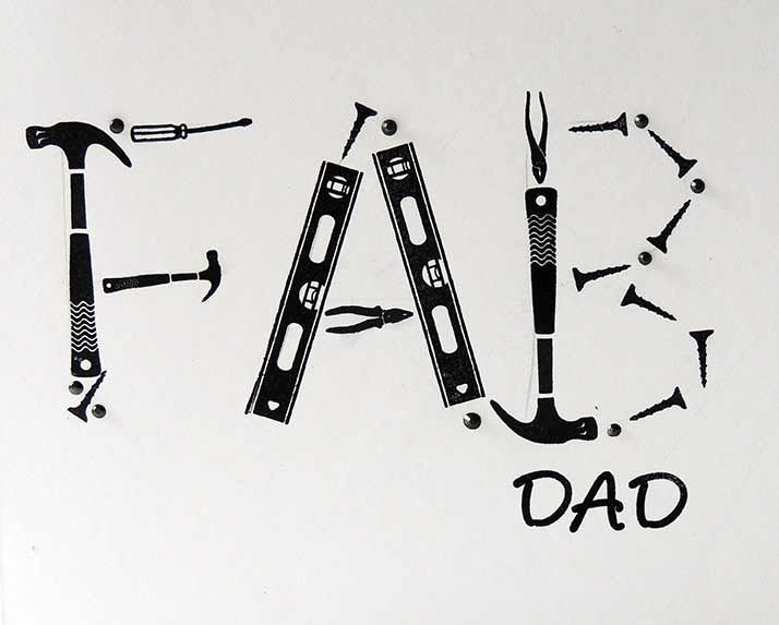 FAB Dad using Tool images from Drills'n'Spills set