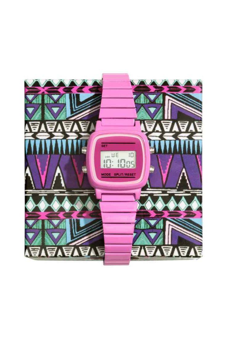 Relógio de pulso digital | H&M 19,99€