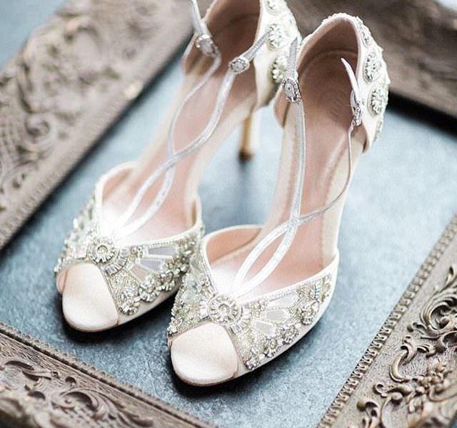 お洒落花嫁のためのウエディングシューズ「エミーロンドン Emmy London」 | Story my wedding