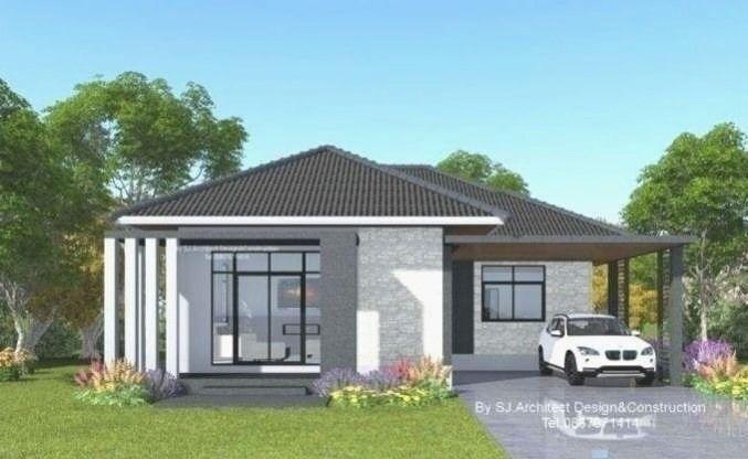 Simple One Storey Single Detached House Plan House And Decors 2020 Ev Planlari Koy Evi Plani Tasarim Evler