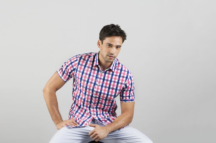 Add a splash of colour to your wardrobe. Pair with light or dark chinos, both work perfect.