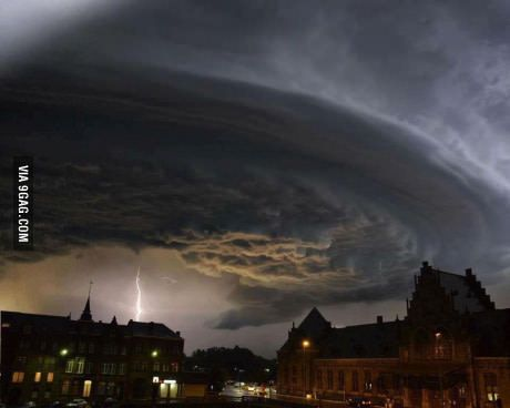 So it looks like someone is trying to summon dark forces in belgium...