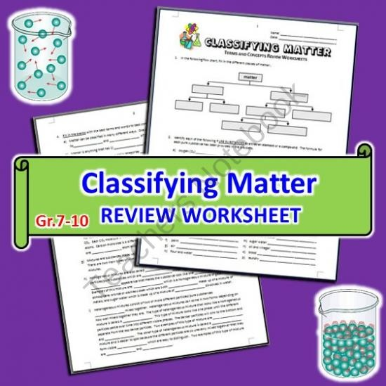 43 best 5.5A Classifying Matter images on Pinterest | Teaching ...