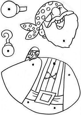 RECURSOS DE EDUCACION INFANTIL: PROYECTO PIRATA: TÍTERE ( II )