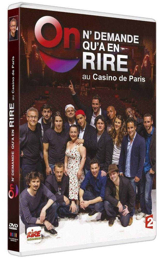 On ne demande qu'à en rire au Casino de Paris en dvd
