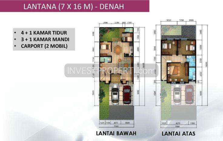 Rumah Tipe Lantana 7x16 m2 #clusterleoraalamsutera