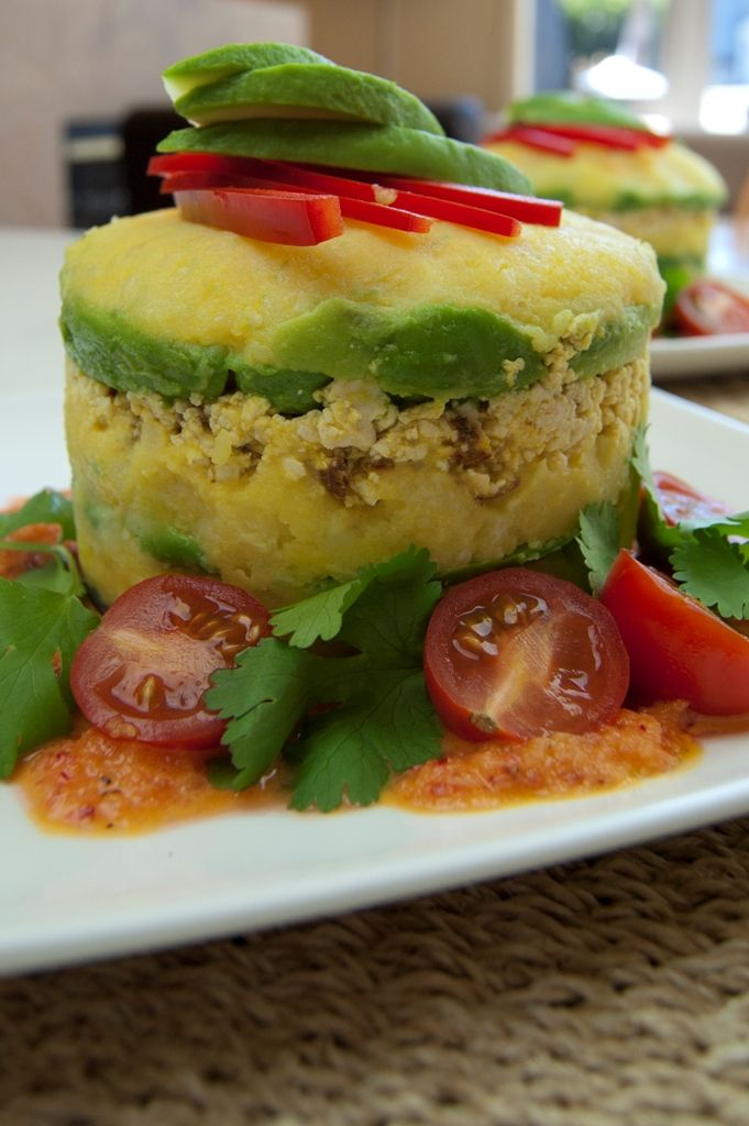 62 best superfoods main dishes images on pinterest entrees veggie causa with tofu causa is a peruvian dish consisting of mashed the potatosnack recipesdinner forumfinder Image collections