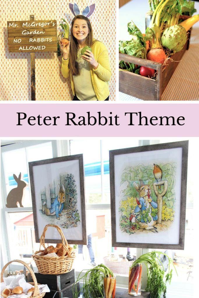 Peter Rabbit Theme Party | Peter Rabbit Theme First Birthday | Peter Rabbit Baby Shower | Boys Baby Shower Ideas | Baby Shower Themes | First Birthday Theme | Peter Rabbit First Birthday