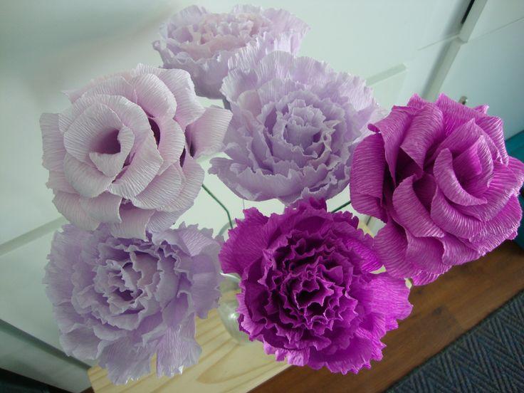 Peony & Rose Combo.  R40 per flower.