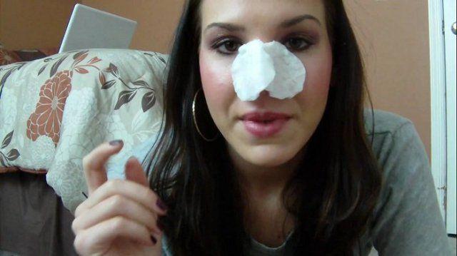homemade nose strips for blackheads