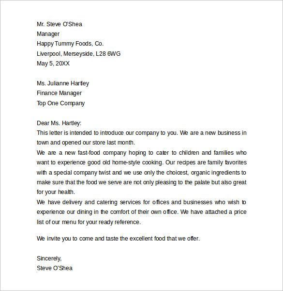 The 25 Best Business Letter Format Ideas On Pinterest Business Business  Introduction Letter Examples Cover Templates