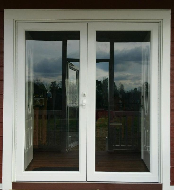 26 best entry storm and security doors images on for Security doors for french doors