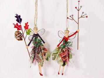 Gisela Graham Forest Fairy Set of 2