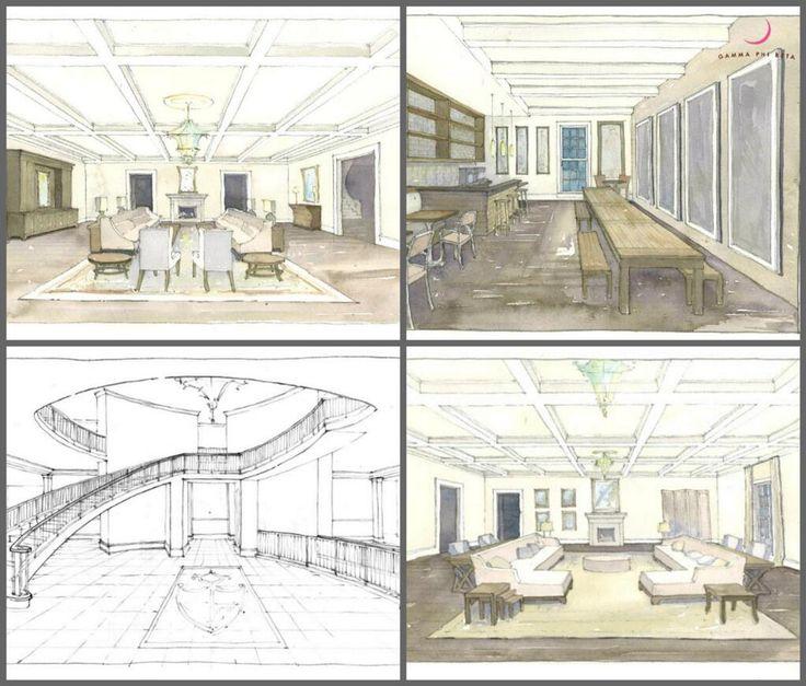 Interior Renderings Of Gamma Phiu0027s New Alabama Sorority House! #