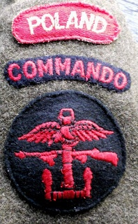 Polish Commando badges