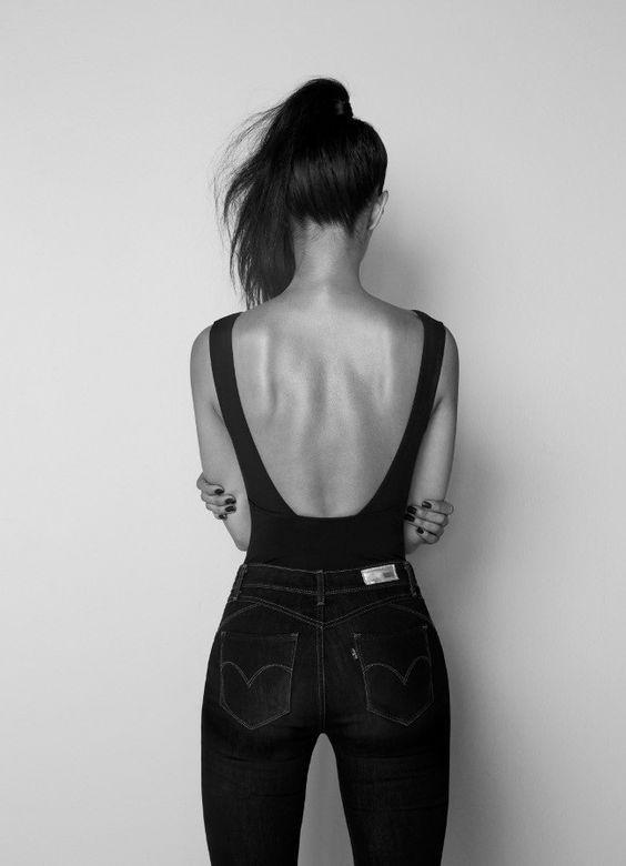 5 Ideias imperdíveis para looks com jeans de cós alto.