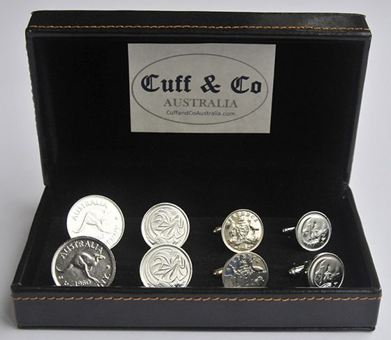 We use real Australian coins that are no longer in circulation ...
