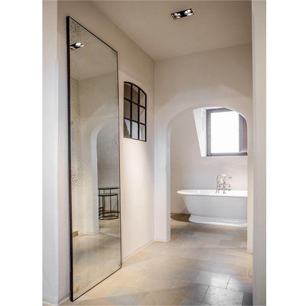 Clear floor mirror - by Notre Monde