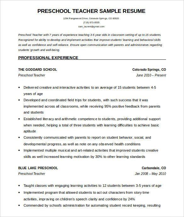 Cv Template For 60 Year Old 1 Cv Template Teacher Resume